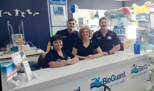 Marina Pools staff